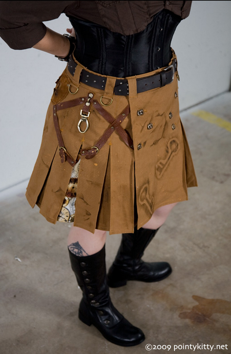 The Noble Hare Steampunk Kilts