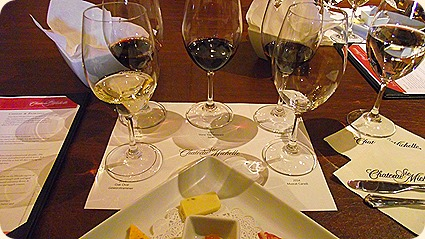 A spectrum of Chateau Ste. Michelle library wines