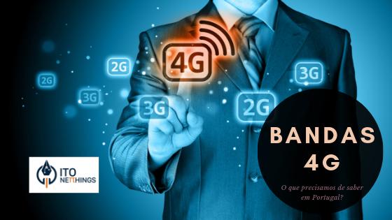 Bandas 4G em Portugal