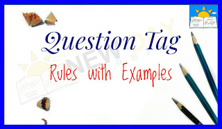 Question Tag rules with examples