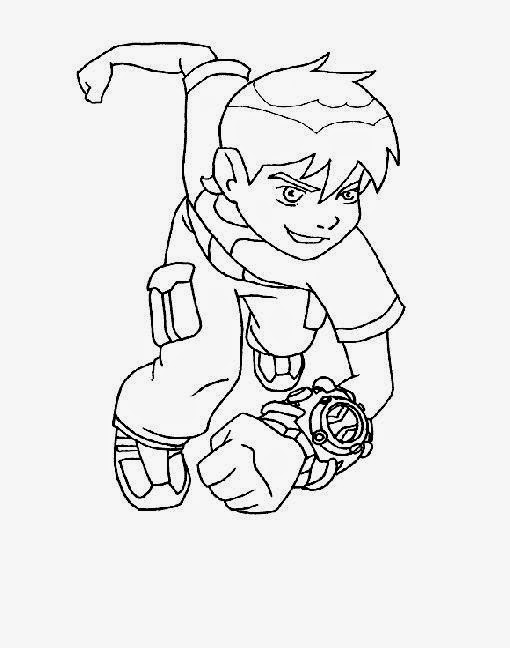 Gallery For > Brainstorm Ben 10 Coloring Pages