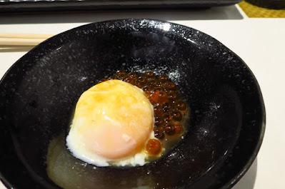 Ryo Sushi, onsen tamago ikura