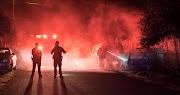 A miskolci rendőrök a tűzből mentették ki az idős asszonyt