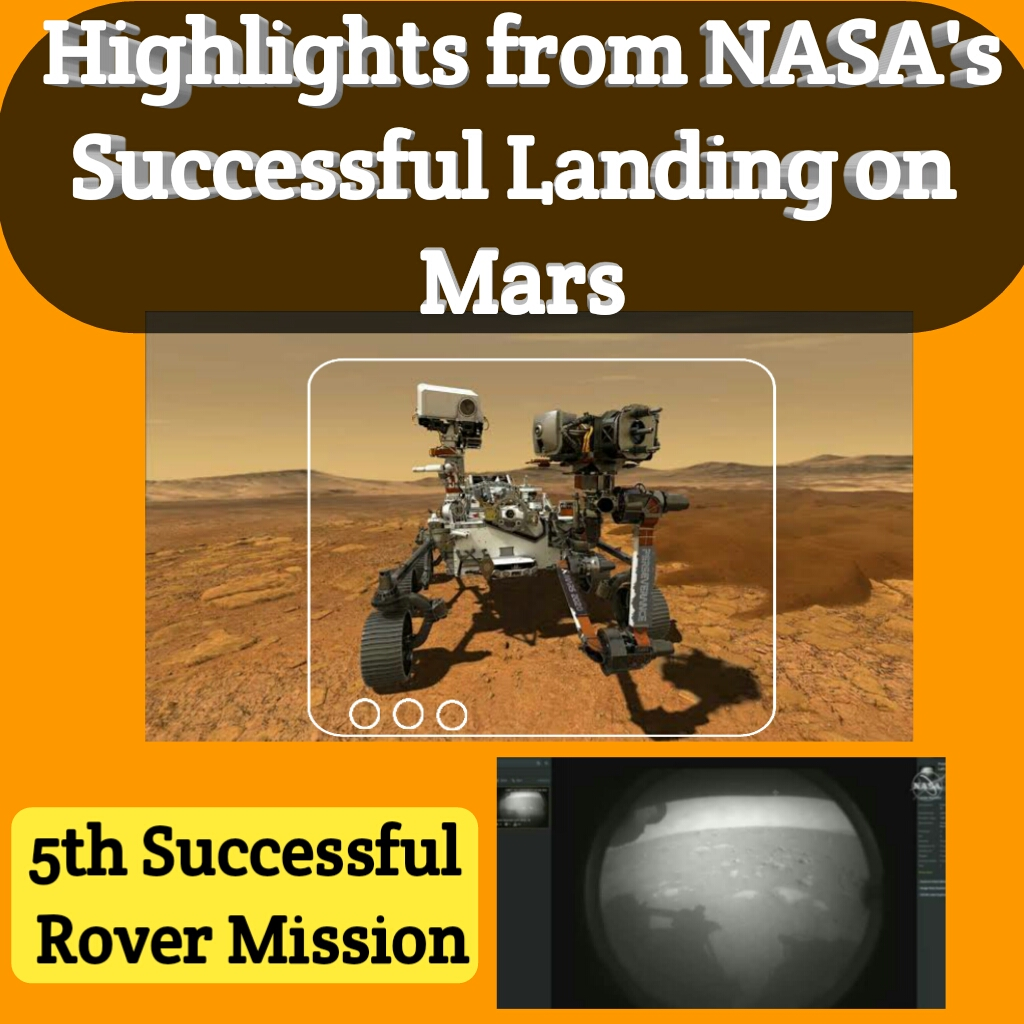 5th Successful Rover Mission Highlights From NASA's Successful Landing on Mars Here's what you need to know whether there was ever life on the Mars.