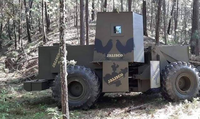 Para abrir brechas  El CJNG usa la maquinaría pesada  y realizar incursiones desde Jalisco al terreno que controlan sus rivales de Carteles Unidos