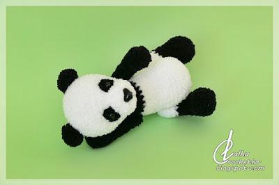 http://lalkacrochetka.blogspot.com/2019/08/panda-bear-mis-panda.html