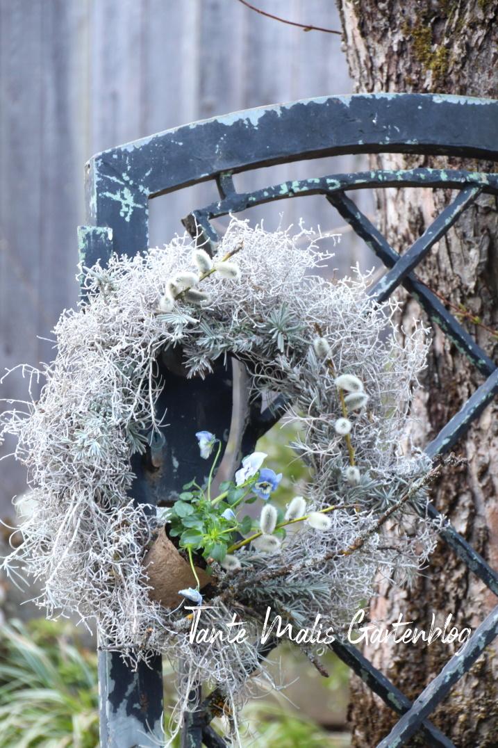 Kranz aus Stacheldrahtpflanze