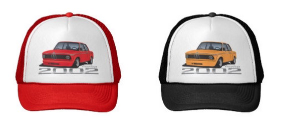 BMW 2002 turbo t-shirt caps