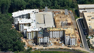 Camden Shady Grove Commercial Insulation Project by Southland Insulators
