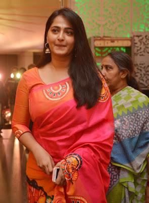 Anushka Shetty Beautiful Saree Stills, Sexy Anushka Heroine Hot 8
