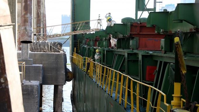 El Puerto de Santa Fe embarcó más en los primeros cinco meses del año que durante todo el anterior