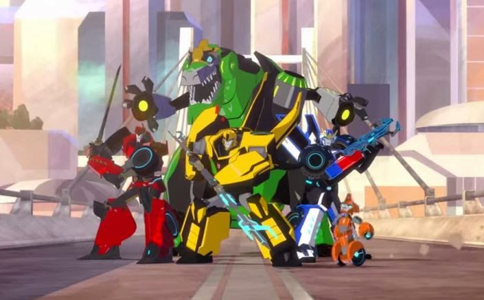 click to watch the trailer and more videos for Transformers: Robots In Disguise
