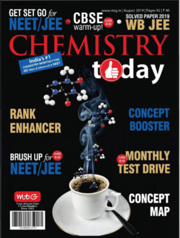 Chemistry-Magazine-August-2019-For-NEET-JEE-Exam-PDF-Book