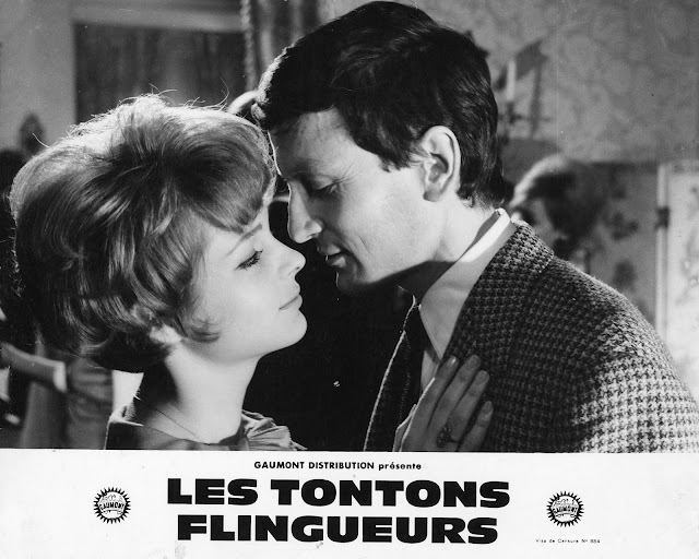 affiches photos d 39 exploitation bandes annonces les tontons flingueurs 1963 georges. Black Bedroom Furniture Sets. Home Design Ideas