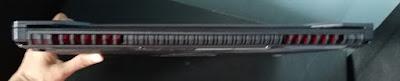 sisi belakang ASUS TUF Gaming FX505D
