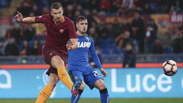 Tertinggal Lebih Dulu, Roma Hantam Sassuolo 3-1