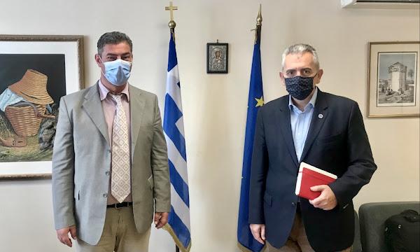 Μάξιμος με Αντιπρόεδρο ΕΛΓΑ: Για τέλη Μαρτίου η εξόφληση των ΠΣΕΑ του 2017