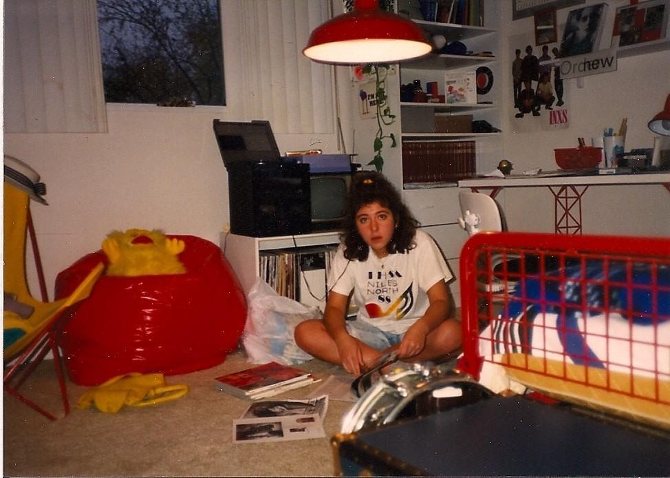 Aesthetic Teenager 80s Bedroom Novocom Top