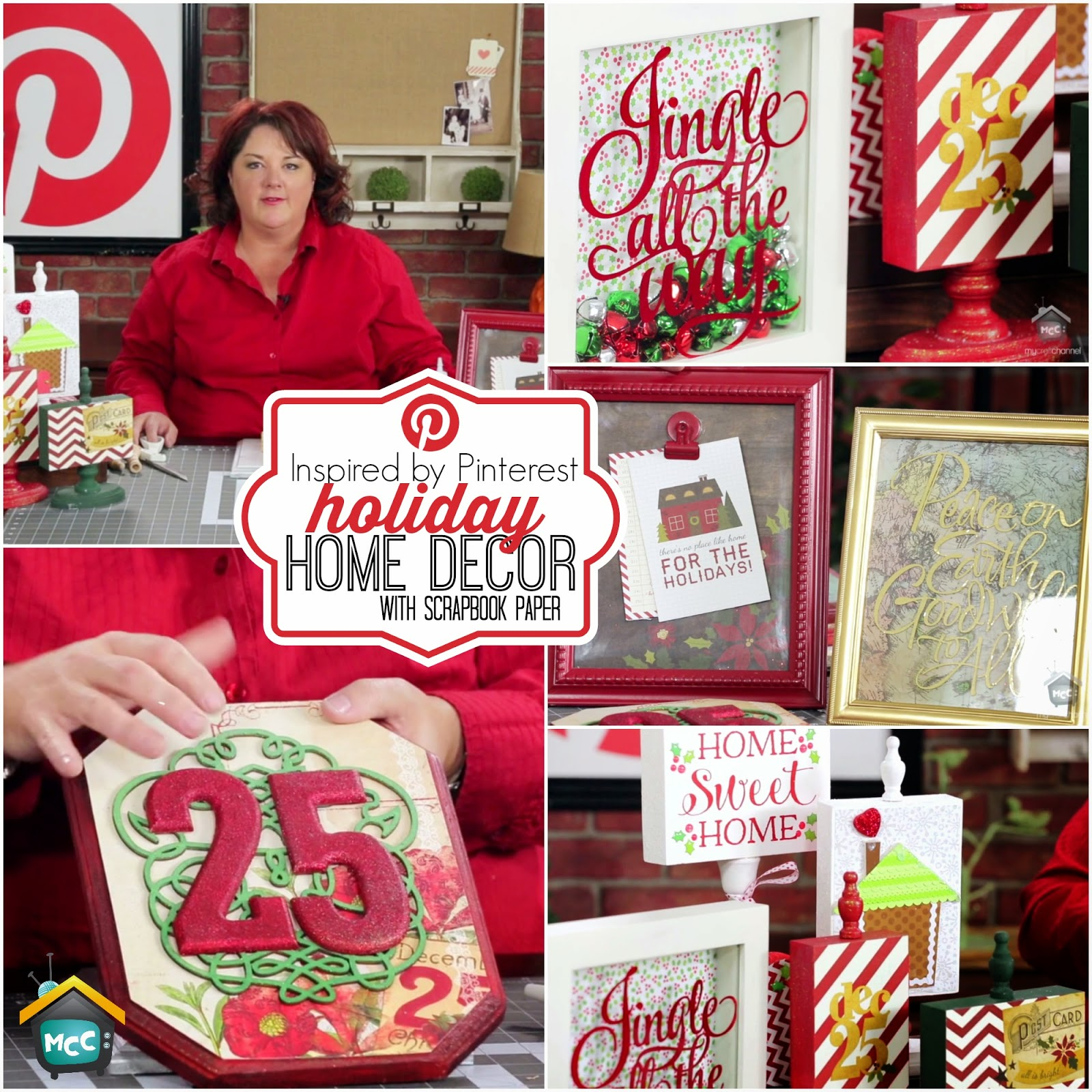 Pinterest Home Decor 2014: My Craft Channel: Nov. 13th: Inspired By Pinterest