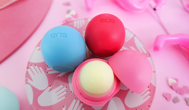 eos lip balm, giveway, beauty blogger