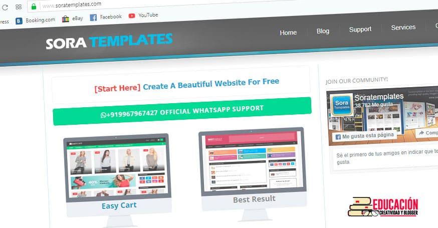 plantillas blogger profesionales gratis soratemplate
