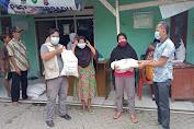 Pemdes dan PKH Desa Junti Salurkan 1.314 Karung Beras BB-PPKM Kepada KPM