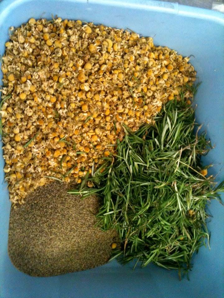 Spices for St. Somewhere's Saison Athene.