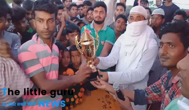 जावेद 11 ने माजिद 11 को हराकर खिताब पर किया कब्ज़ा, मुख्य अतिथि रहे मधुरेन्द्र कुमार सिंह