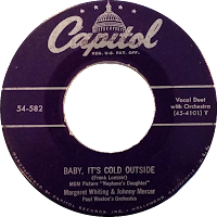 Baby, It's Cold Outside record