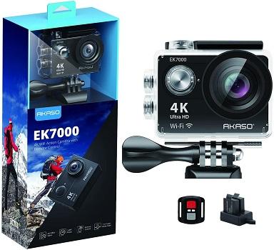 AKASO EK7000 - Best 4K Action Camera Under $100