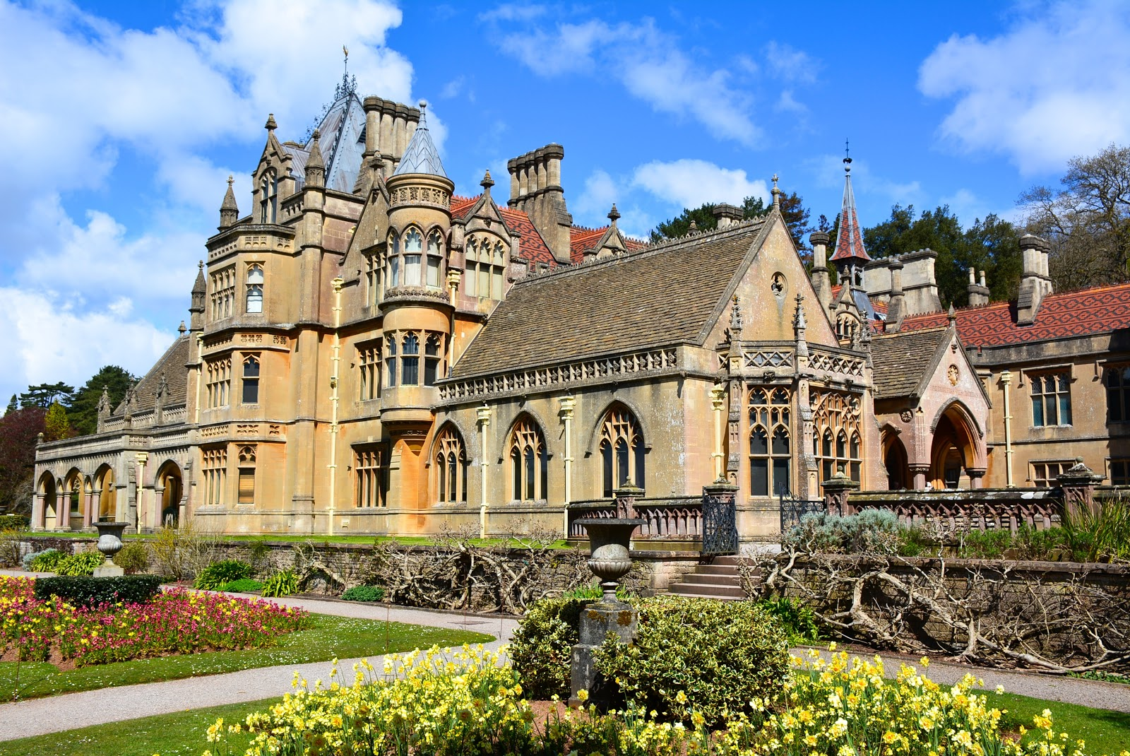 Tyntesfield House in North Somerset