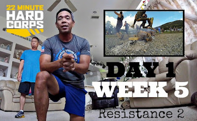 Day 1 Week Five 22 minute Hard Corps Challenge, 22 minute Hard Corps Resistance 2 Workout, Asheville Spartan Super 2016, Asheville Spartan Race, Spartan Race Training