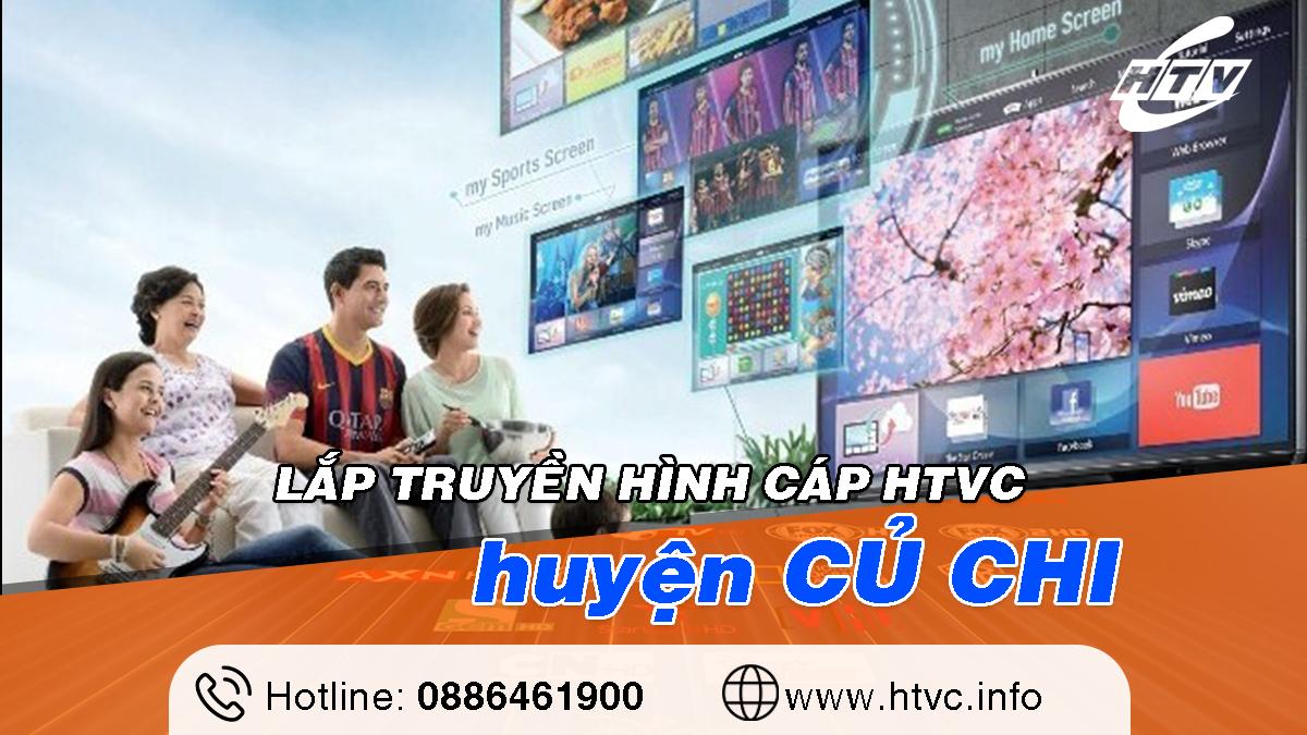 Tổng đài Lắp truyền hình cáp HTVC tại Củ Chi