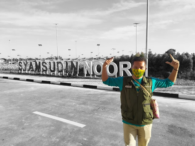 Pengalaman Terbang dari Syamsudin Noor - Soekarno Hatta di Tengah Pandemi Corona Virus