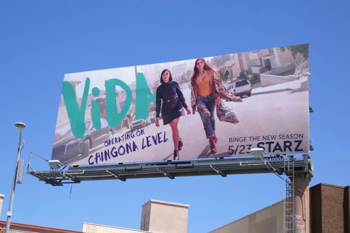 Vida season 2 Starz billboard