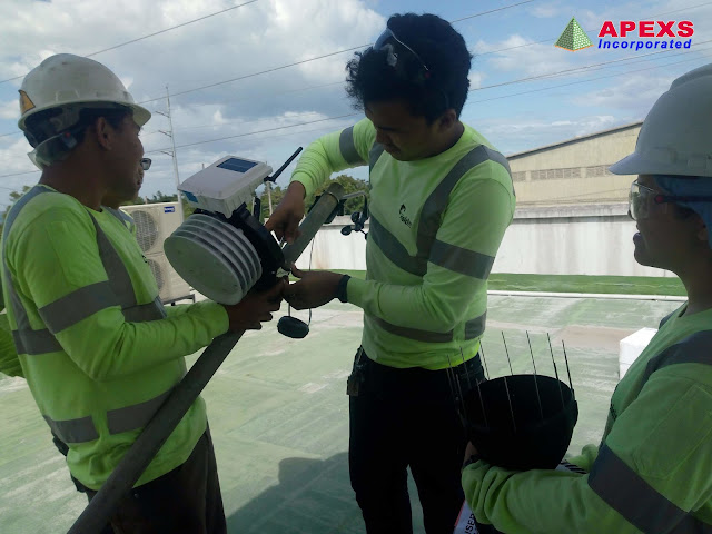 APEXS: Installation of Automated Weather Station at the Holcim Philippines Inc. Davao Plant