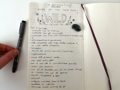 journaling about word of the year