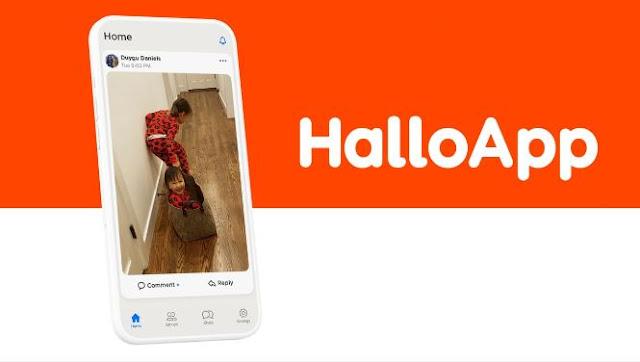 تحميل HalloApp apk