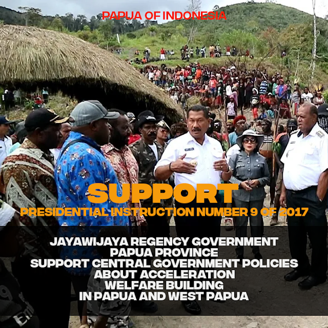 Jayawijaya Regency Government Implements the Acceleration of Development in Papua and West Papua