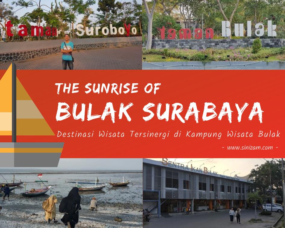 The Sunrise of Bulak Surabaya, Destinasi Wisata Tersinergi di Kampung Wisata Bulak