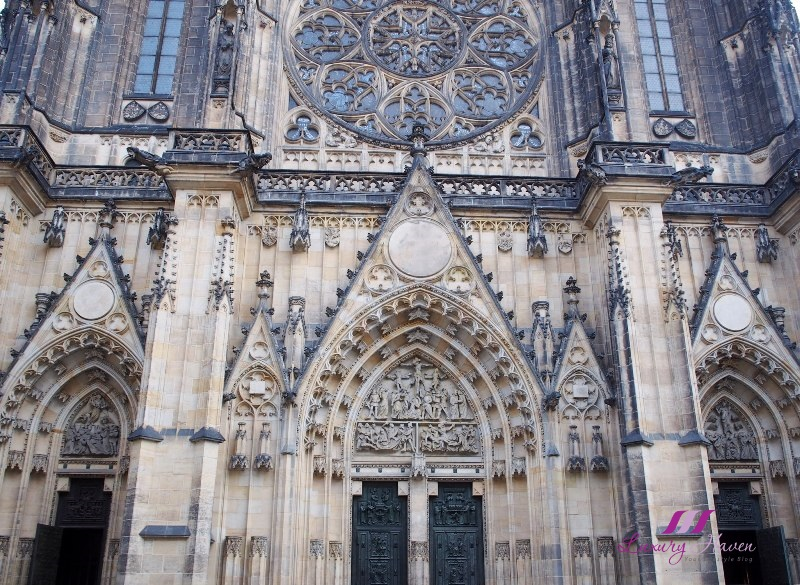 czech republic prague tourist attraction st vitus cathedral