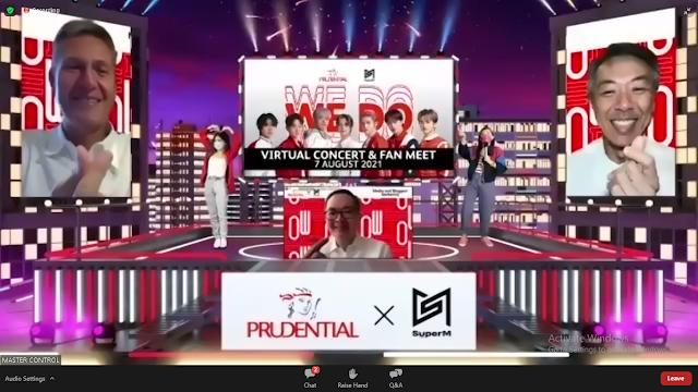 PrudentialXSuperM We DO Virtual Concert & Jumpa Fan
