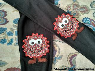 pantalones-rodilleras-trozos-tela-monstruos