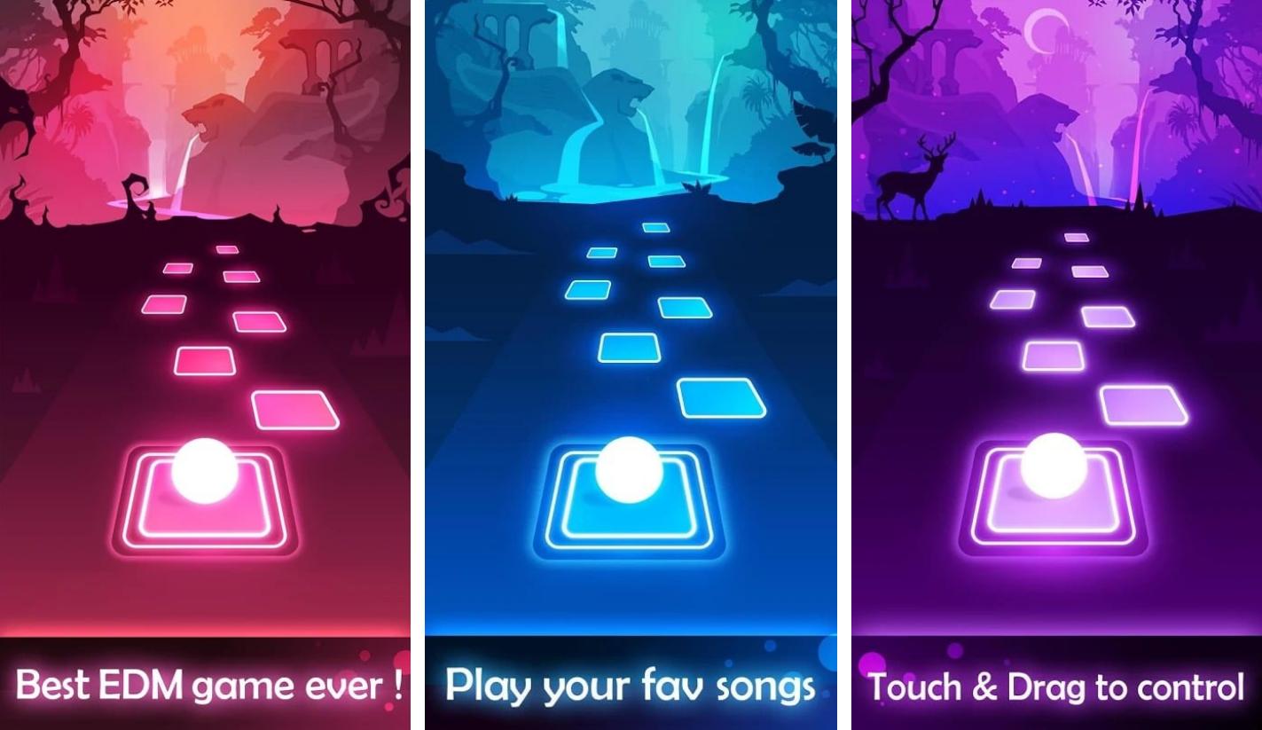 إذا كنت تحب الموسيقى فلا يمكنك تجاهل Tiles Hop: EDM Rush هذه هي أحدث لعبة موسيقية أصدرتها AMANOTES