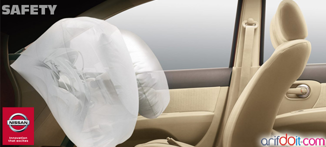Nissan Grand Livina memiliki keselamatan tingkat tinggi