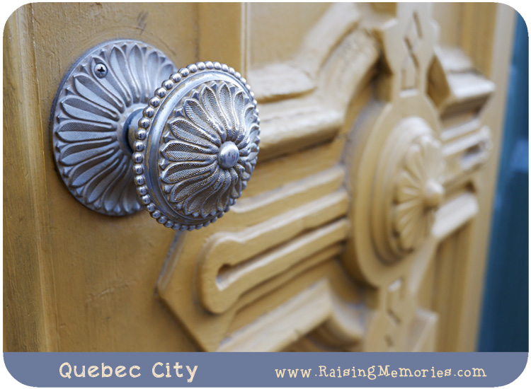 Doorknob Photography in Quebec City