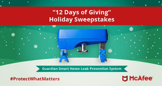 McAfee wants you to learn how to protect your tech online and enter to win everything you need to turn your house into a fully connected smart home!