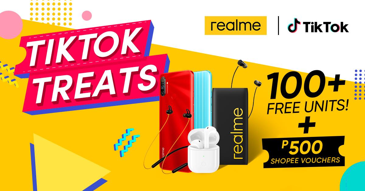 realme and tiktok online campaign