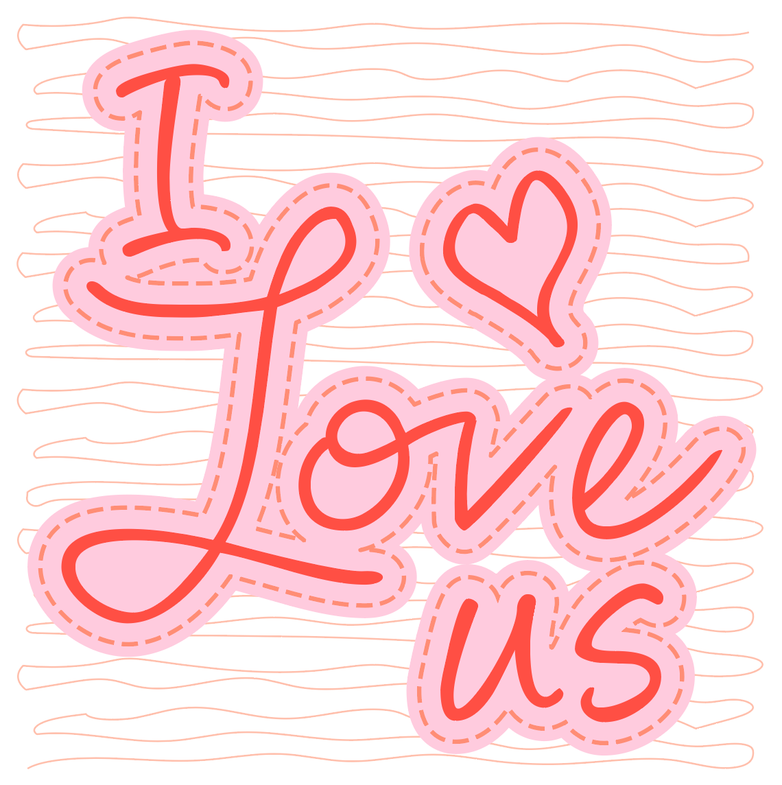 Download Valentine's Day Card with Heat Transfer Foil