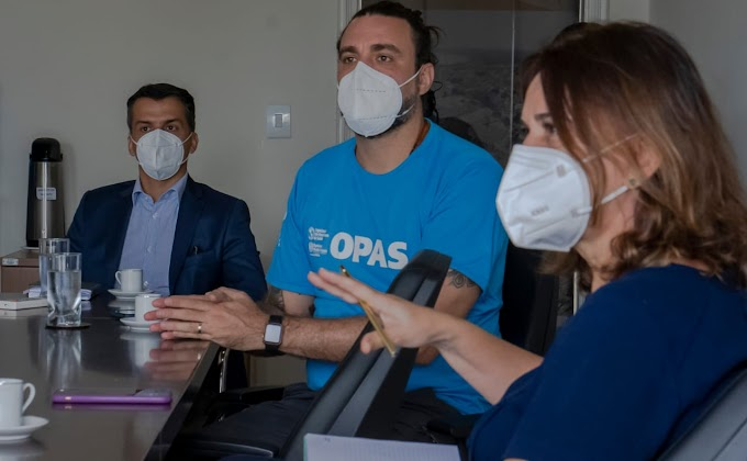 Prefeito firma acordo com a OPAS para intensificar combate à Covid-19